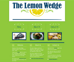 The Lemon Wedge